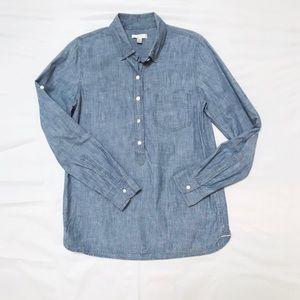 J crew chambray shirt (size 6)